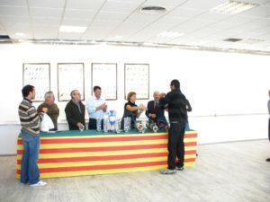 Entrega de premios al Sr. Muñoz
