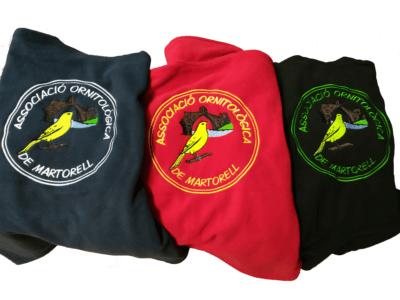 Chalecos Asociación Ornitológica de Martorell